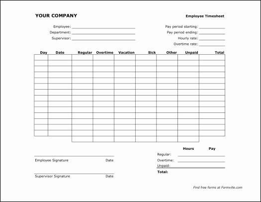 Employee Bi Weekly Timesheet Template Luxury 7 Best Of Free Printable Bi Weekly Timesheet