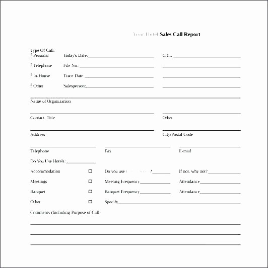 employee call off log template training out