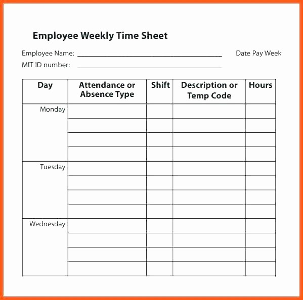 Employee Lunch Break Schedule Template Best Of Free Excel Template Bi Weekly with Lunch Break Memes Page
