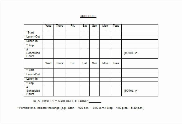 Employee Lunch Break Schedule Template Inspirational Employee Lunch Schedule Template Templates Resume