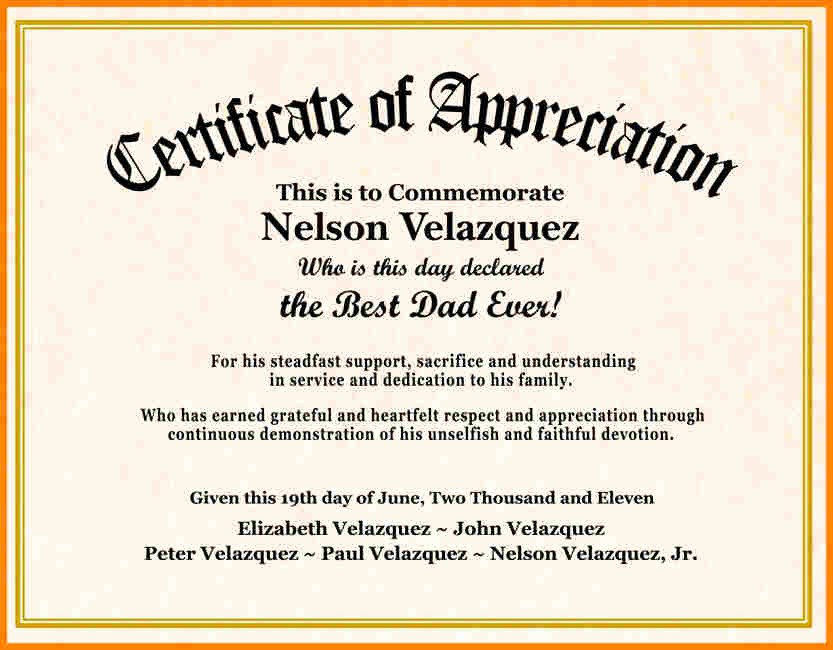 Employee Of the Day Certificate Fresh Certificate Wording