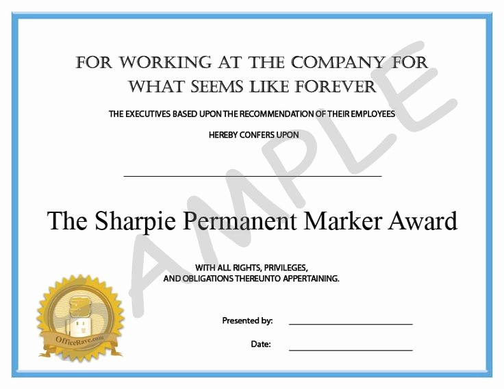 Employee Of the Day Certificate New 9 Best Images About Staff Party On Pinterest