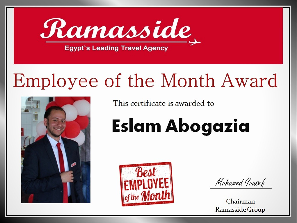 Employee Of the Day Certificate New About Us