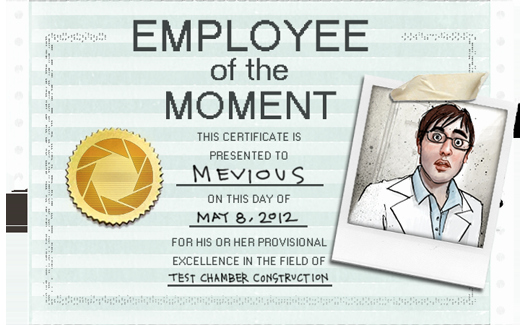 Employee Of the Day Certificate Unique News Portal 2 Ficial Blog