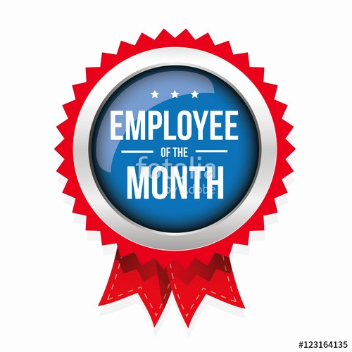 """Employee Of the Month Free Best Of """"employee Of the Month Badge with Ribbon"""" Stock Image and"""