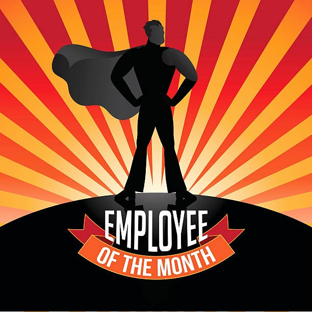 Employee Of the Month Free Best Of Royalty Free Employee the Month Clip Art Vector
