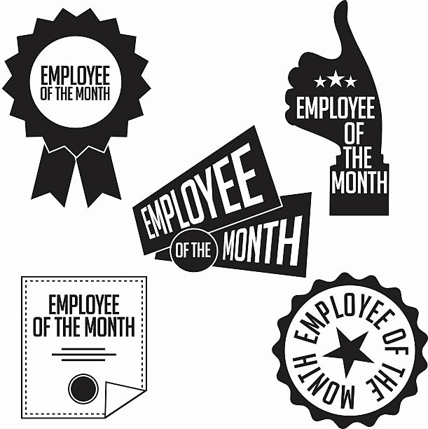 Employee Of the Month Free Lovely Royalty Free Employee the Month Clip Art Vector