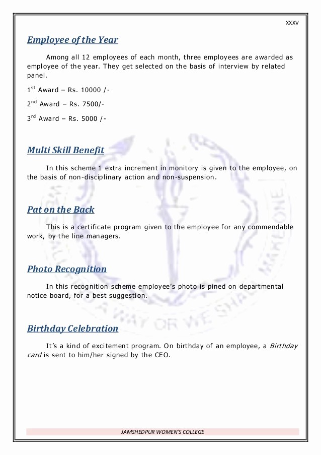 Employee Of the Month Sample Best Of Re Mendation Letter Sample for Employee the Month