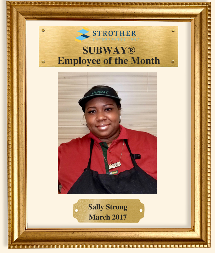 "Employee Of the Month Sample Inspirational Strother Enterprises On Twitter ""our New Employee Of the"