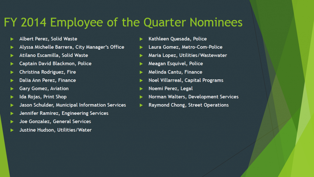 employee of the year 2014 best moments and highlights