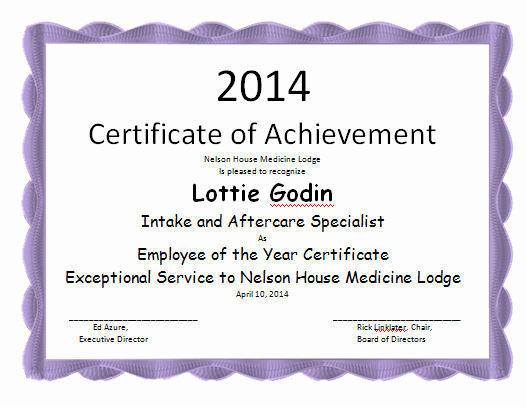 Employee Of the Year Certificates Best Of Employee the Year Certificate Template Microsoft Word