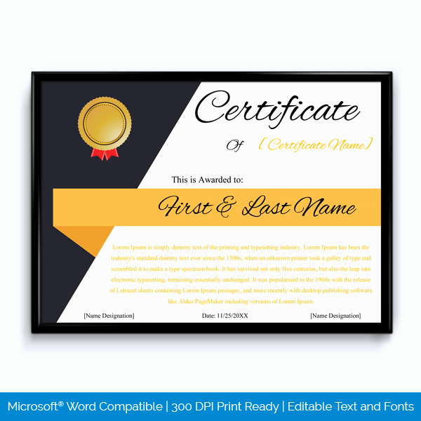Employee Of the Year Certificates New 89 Elegant Award Certificates for Business and School events