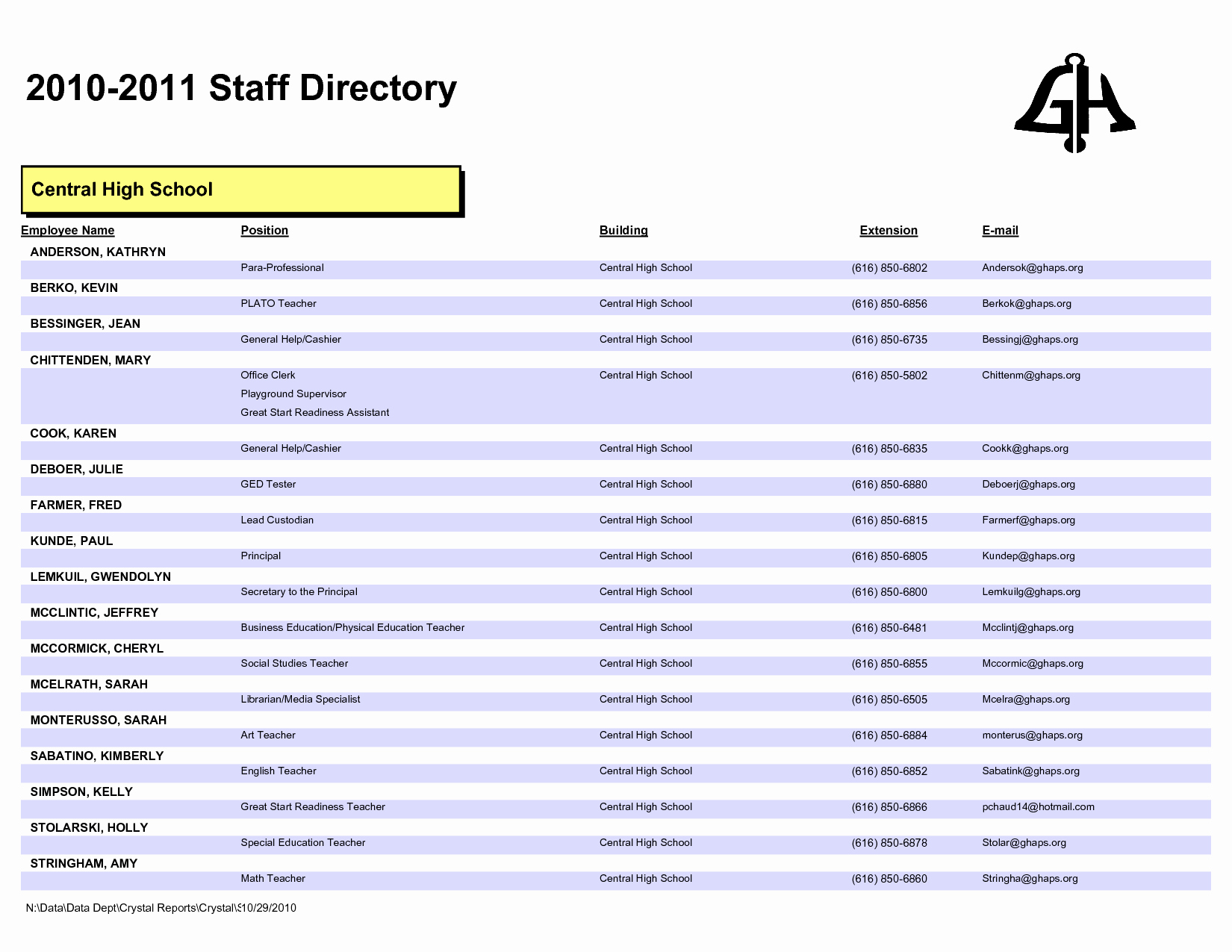 Employee Phone List Template Free Awesome Outstanding Employee Directory Template for Pany V M