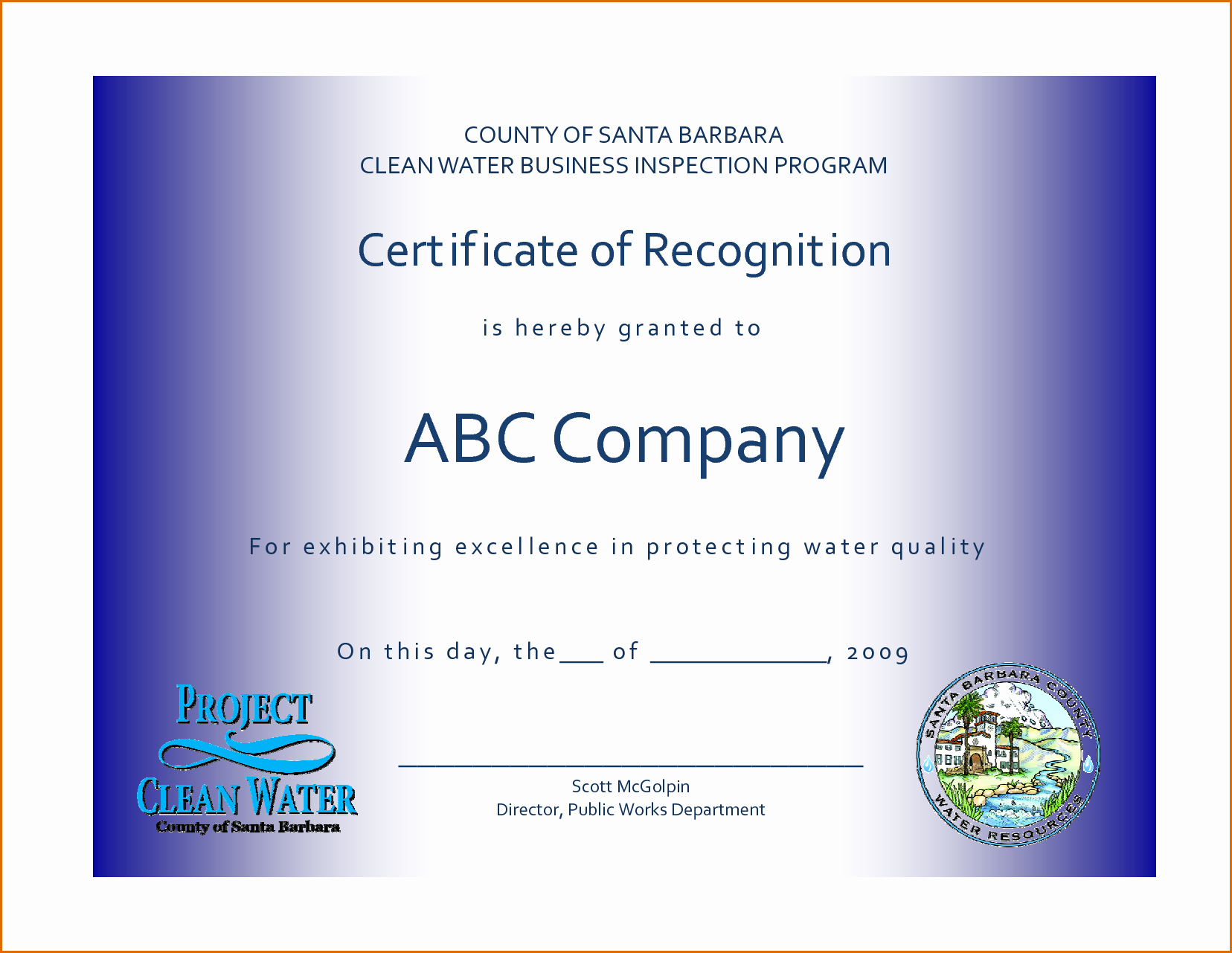 Employee Recognition Certificates Templates Free Beautiful 13 Certificate Of Recognition Template