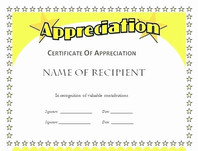 Employee Recognition Certificates Templates Free Beautiful Certificate Template Employee Recognition Free Printable