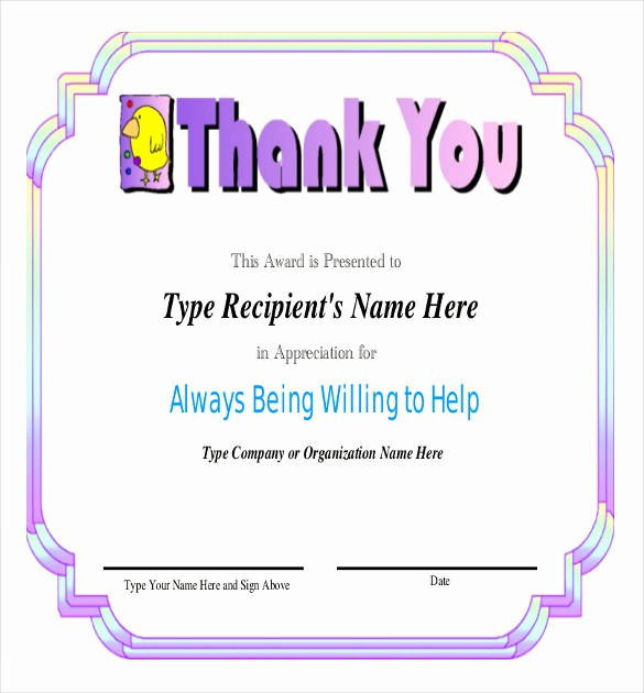 Employee Recognition Certificates Templates Free Best Of Employee Recognition Awards Template 9 Free Word Pdf