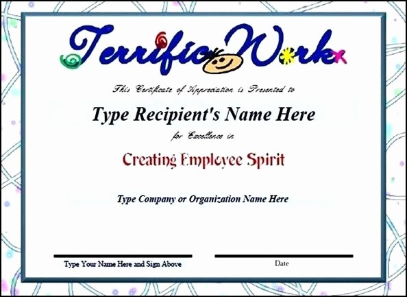 Employee Recognition Certificates Templates Free Inspirational Best 25 Sample Certificate Of Recognition Ideas On