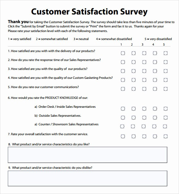 Employee Satisfaction Survey Template Word Lovely Employee Satisfaction Survey 8 Download Free Documents