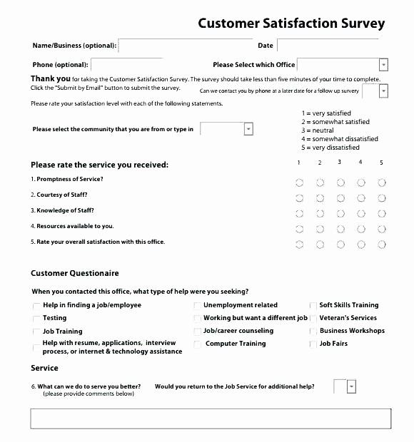 Employee Satisfaction Survey Template Word New Pany Feedback Survey Template Satisfaction Surveymonkey
