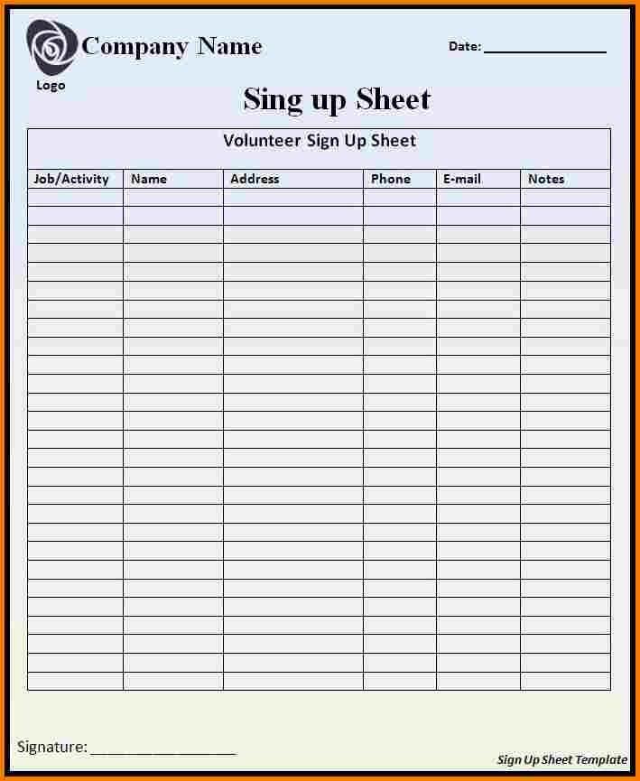 Employee Sign In Sheet Excel Elegant Excel Sign In Sheet