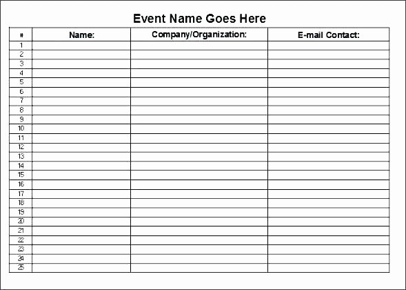 Employee Sign In Sheet Excel New Sign Off Sheets Template – Buildingcontractor