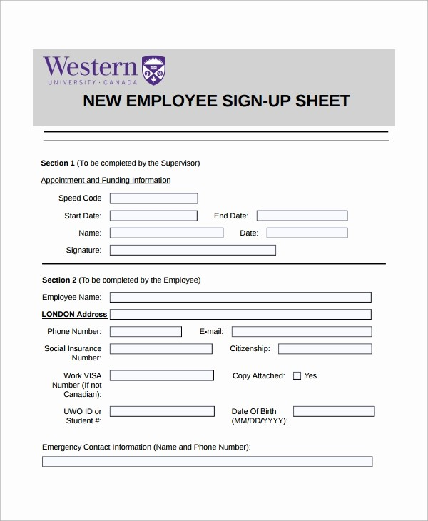 Employee Sign In Sheet Pdf New 16 Employee Sign In Sheets