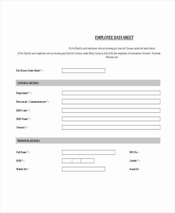 Employee Sign In Sheet Pdf Unique Employee Sheet Templates 10 Free Word Pdf & Excel
