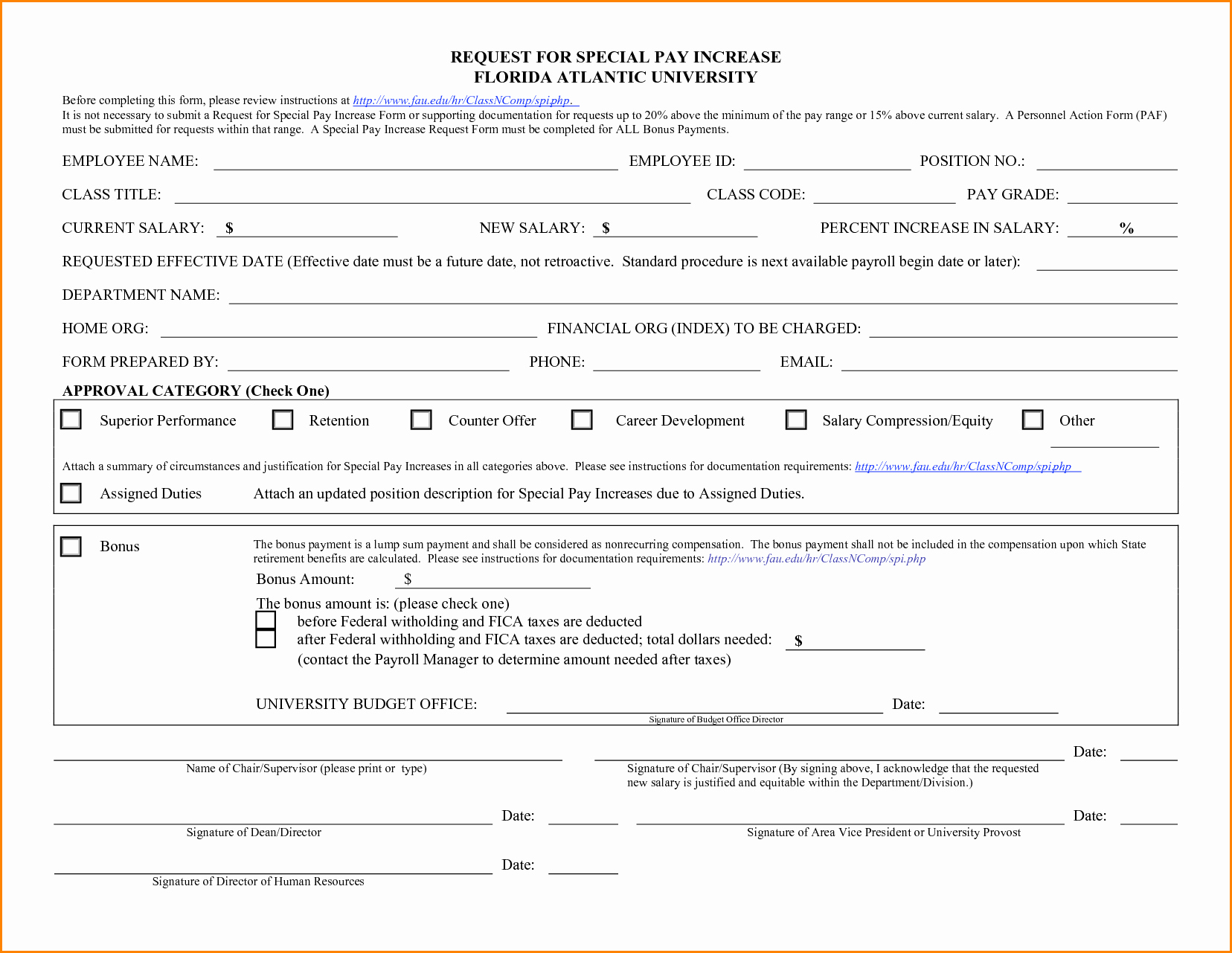 Employee Status Change Template Excel Beautiful 9 Salary Change form Template