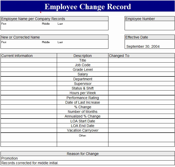 Employee Status Change Template Excel Elegant Sample Letter for Request to Change Status
