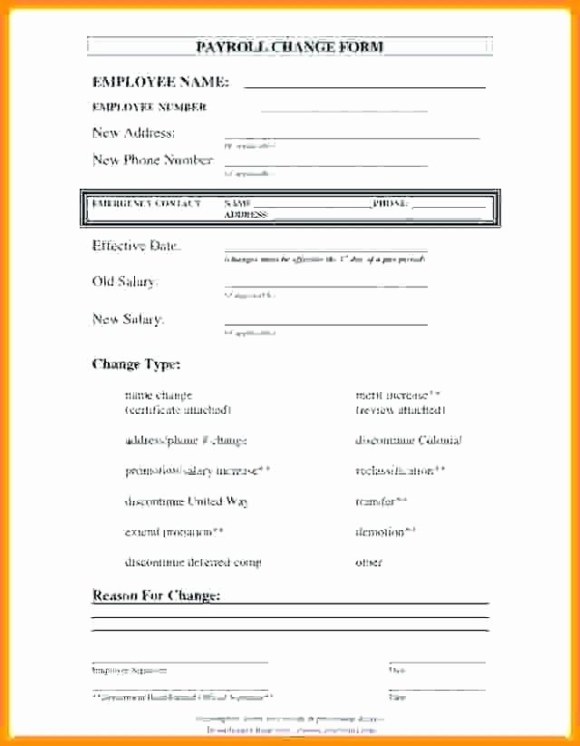 Employee Status Change Template Excel Fresh Shift Change Template Shift Change form Access Request
