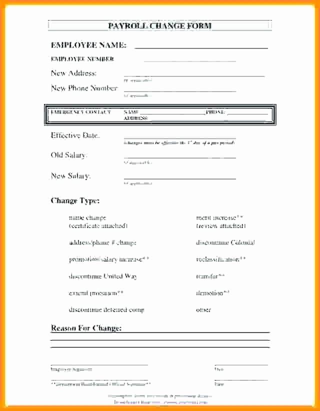 Employee Status Change Template Excel Fresh Shift Change Template Shift Change form Access Request