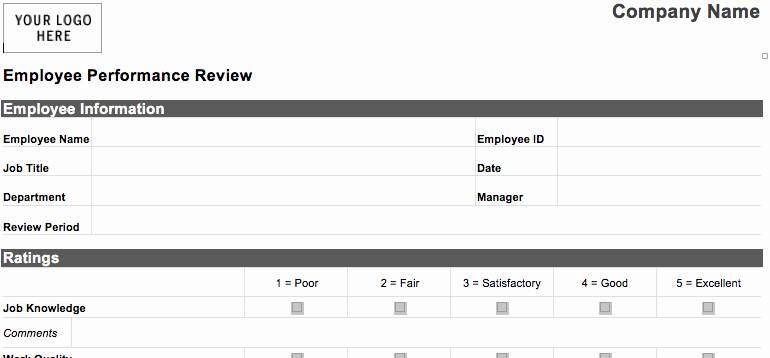 Employee Status Change Template Excel New 97 Employee Ranking Excel Template top Employee Status