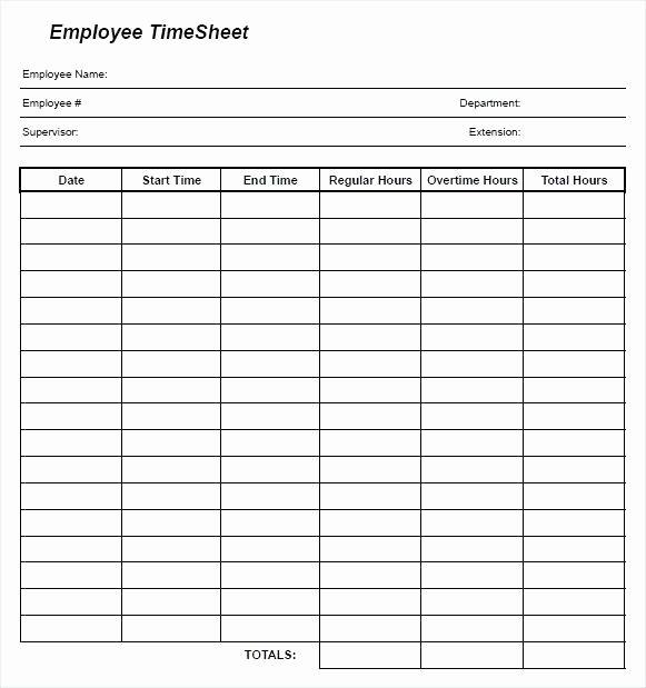 Employee Time Cards Template Free Inspirational Simple Printable Time Sheets – Metforminfo