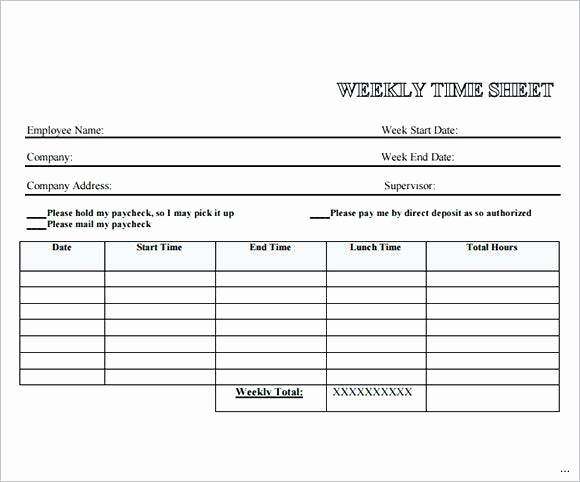 Employee Time Cards Template Free Luxury Uploaded by Free Printable Weekly Time Cards Bi Template