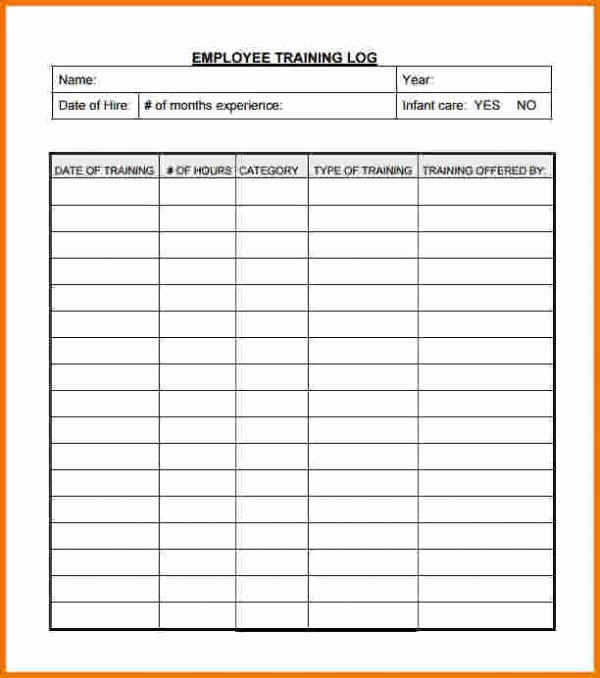 Employee Training Plan Template Excel Inspirational Employee Training Record Template Excel