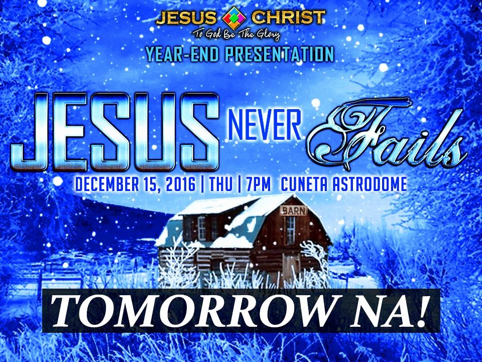 End Of the Year Slideshow Awesome Year End Presentation tomorrow Na Jesus Christ to God