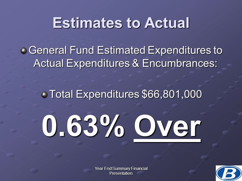 End Of the Year Slideshow Awesome Year End Summary Financial Presentation Ppt Video Online