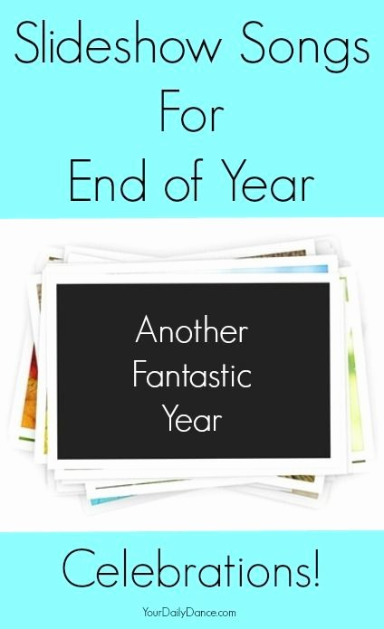 End Of the Year Slideshow Inspirational Best 25 Slideshow songs Ideas On Pinterest