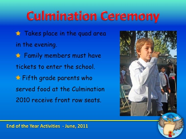 End Of the Year Slideshow Inspirational End Of the Year Fifth Grade Presentation
