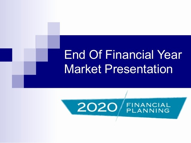 End Of the Year Slideshow Lovely End Of Financial Year Market Presentation