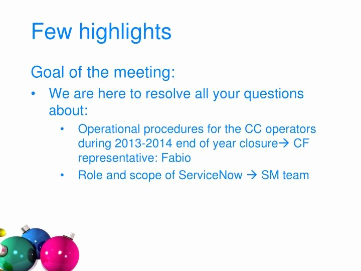 End Of the Year Slideshow Lovely Ppt Servicenow Platform for the End Of Year Closure