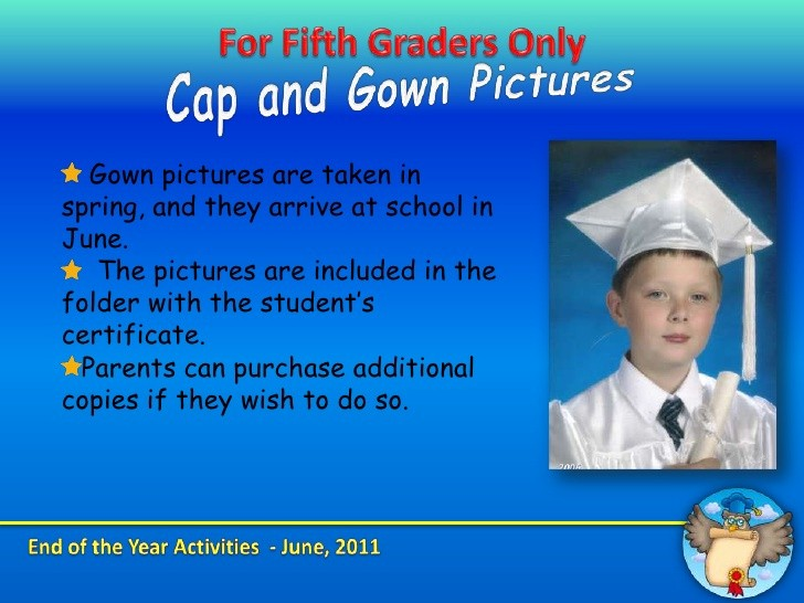 End Of the Year Slideshow New End Of the Year Fifth Grade Presentation