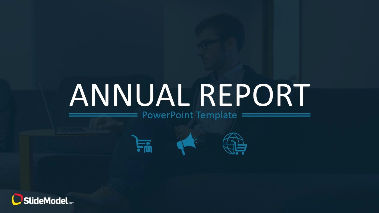End Of Year Reports Templates Awesome Year End Report Powerpoint Template 0033 Annual Report