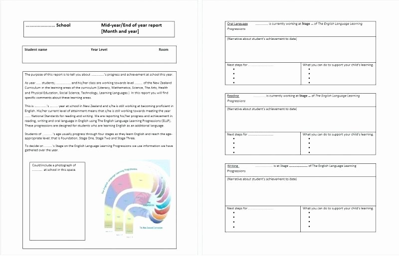 End Of Year Reports Templates Unique Technology assessment Report Template – Royaleducationfo