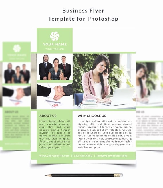 Enter to Win Flyer Template Elegant Business Flyer Template 002 for Shop 8 5 X 11