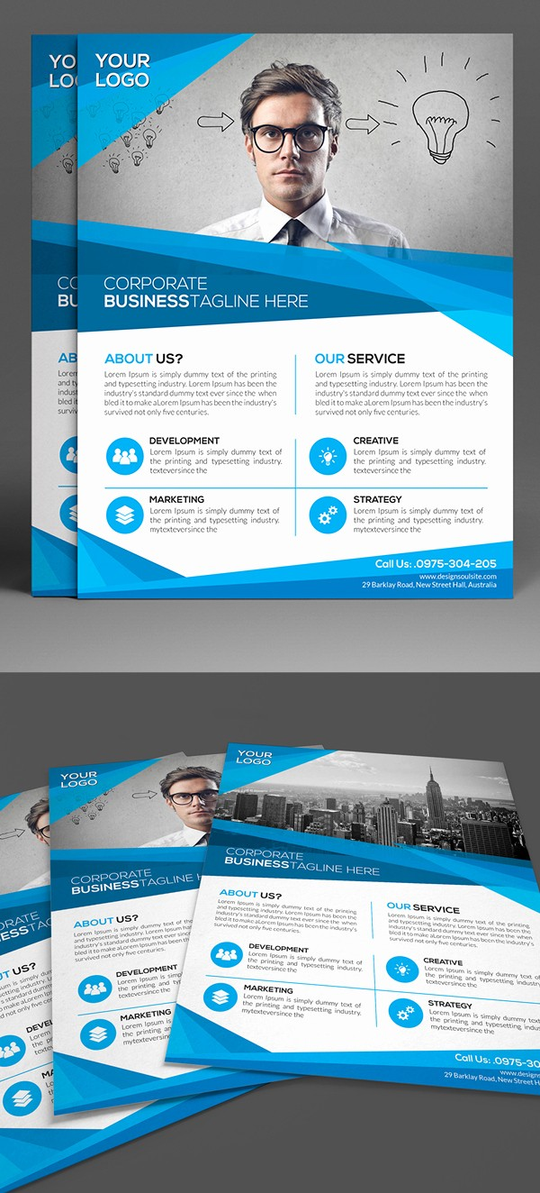 Enter to Win Flyer Template Elegant Corporate Flyer Templates Design
