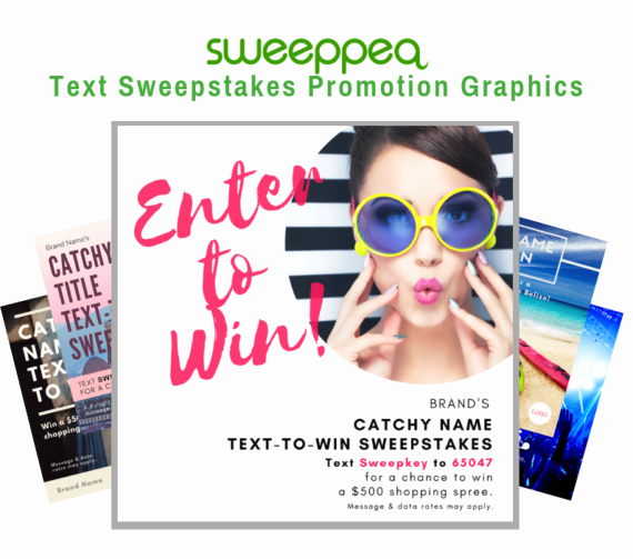 Enter to Win Flyer Template Elegant Text to Win Campaign Archives Sweeppea Blog Text to