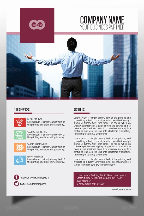 direct marketing flyer