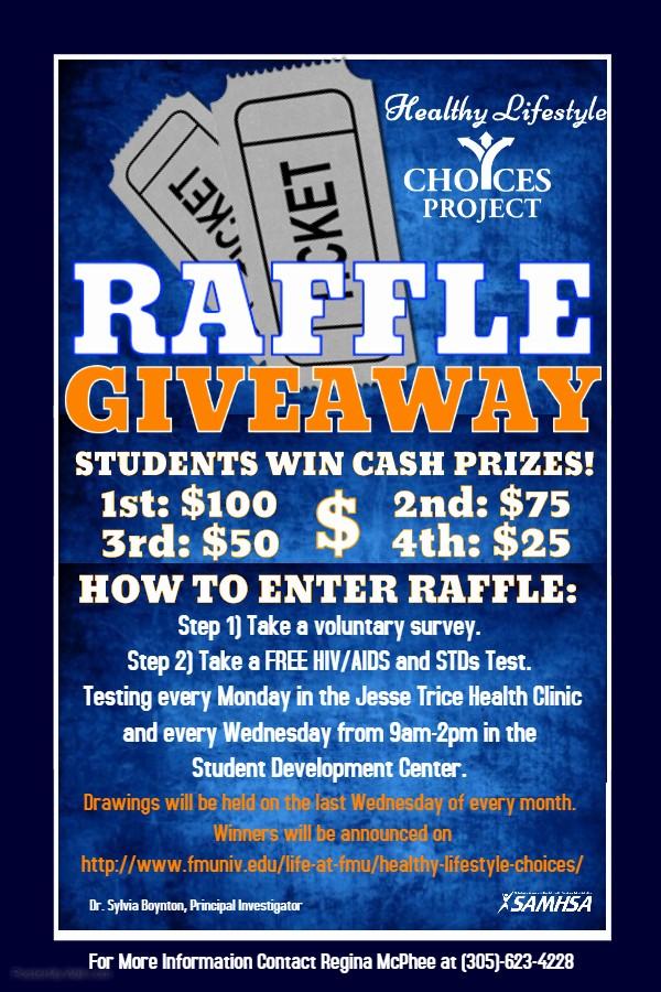 Enter to Win Raffle Template Luxury Florida Memorial University Hlc Raffle Giveaway