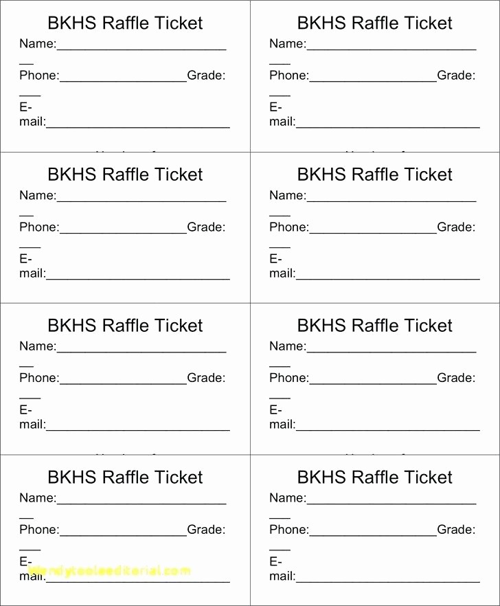 Enter to Win Raffle Template Unique Raffle Ticket Numbered Template Excel – Traguspiercingfo